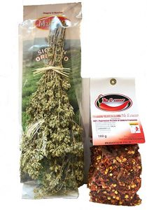 Sicilian Oregano and Calabrese Crushed Red Chili Pepper Image