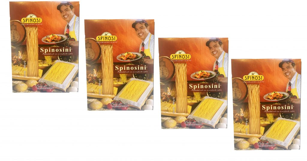 Spinosini Egg Pasta by Spinosi (4 Pack) Image