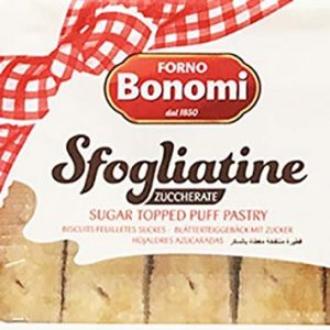 Sugar Topped Puff Pastry, Sfogliatine Zuccherate by Bonomi Image