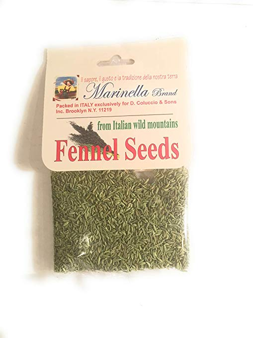 Whole Fennel Seeds from Italian Wild Mountains by Marinella Image
