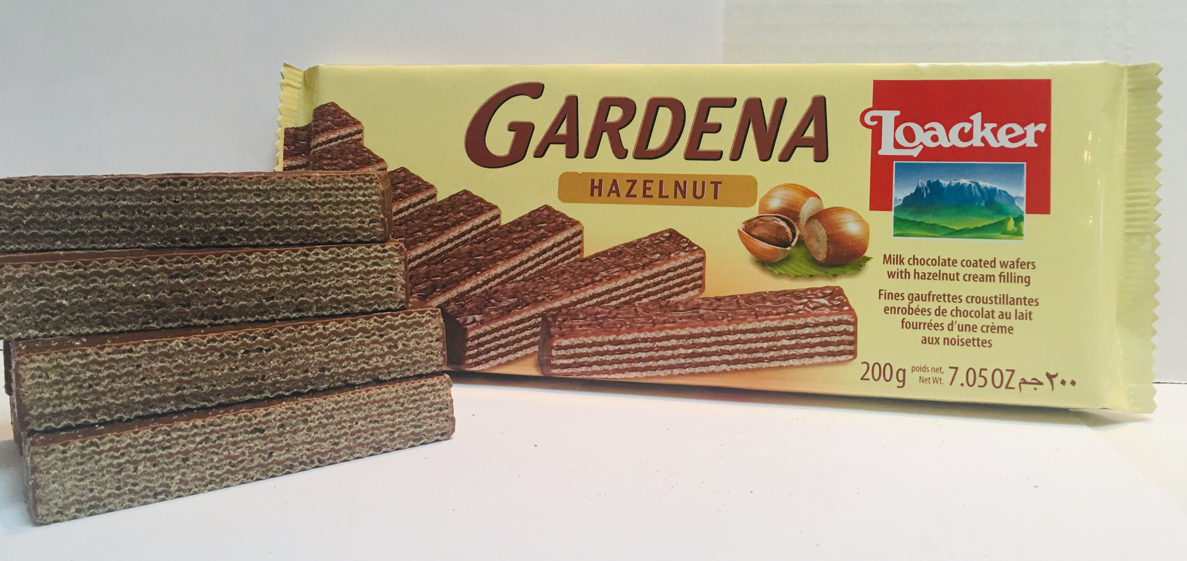 Loacker Gardena - Milk Chocolate with Hazelnut cream Image