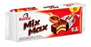 Mix Max 10 indv Snack Cakes - by Balconi Image