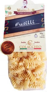 Fusilli Pasta from Italy - imported by Coluccio Image