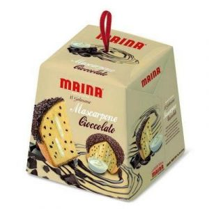 Maina Panettone with Marscapone and Chocolate Image