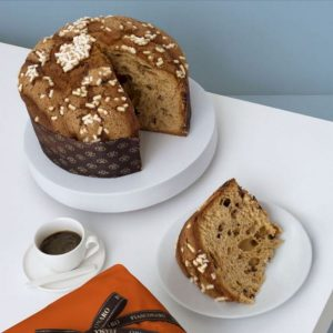 Fiasconaro Cioccolato - Panettone with chocolate drops topped with Icing - Image